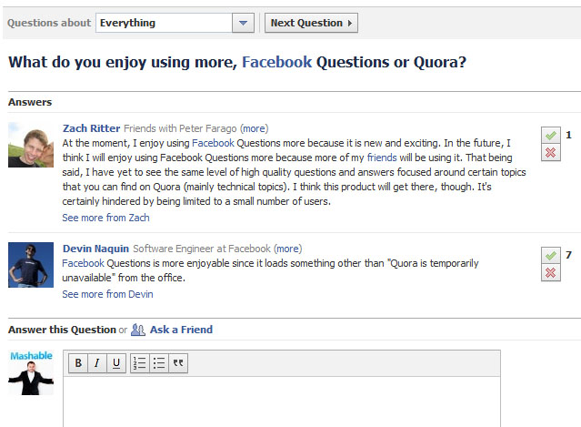 5 Ways Facebook Questions can be an Answer for your ...